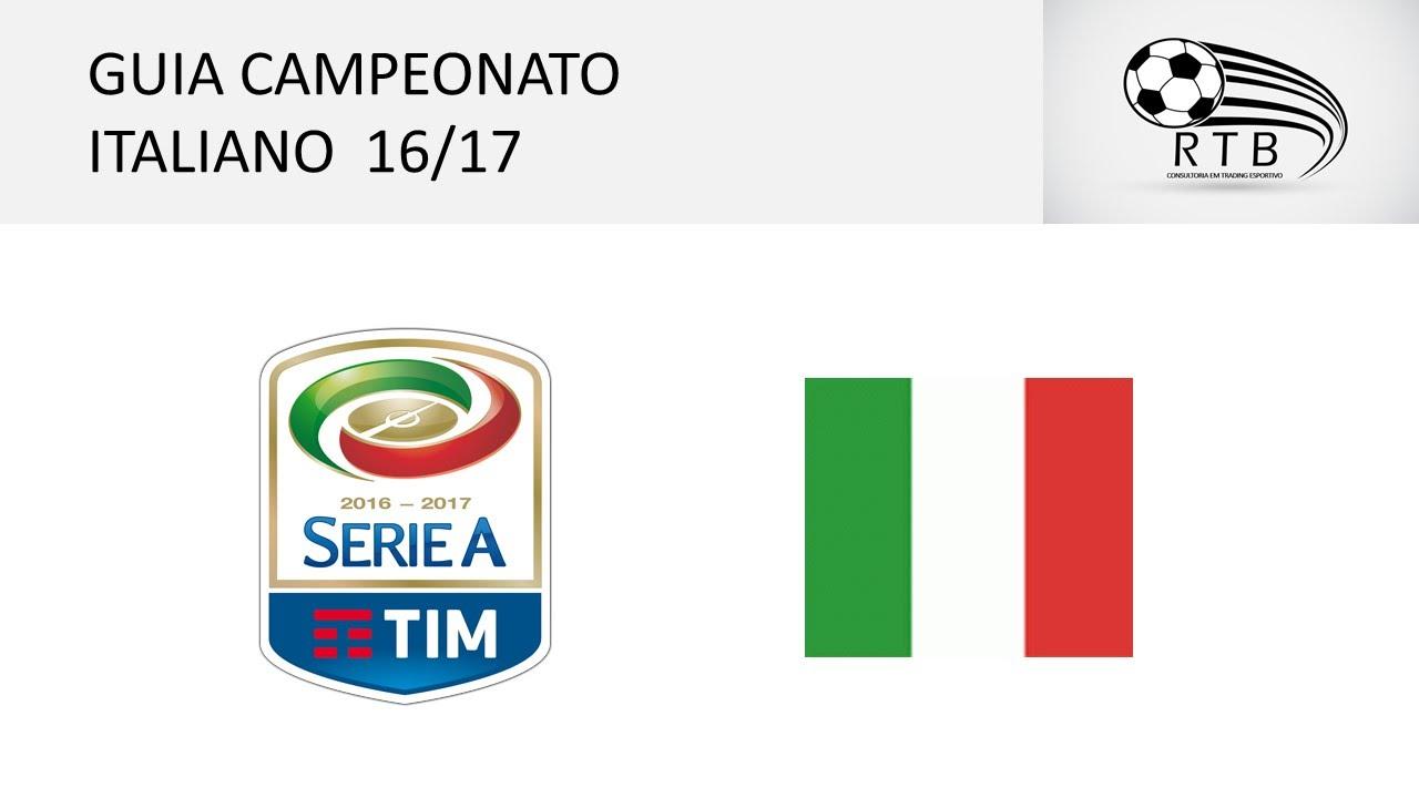 Guia para apostas do campeonato Italiano 16 17 - RTB - YouTube 1d7003ee3beb9