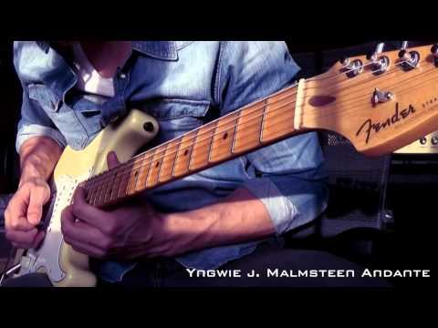 Yngwie J. Malmsteen Andante Cover 1080p / 60fps