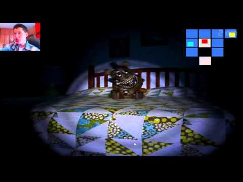 ПРОХОЖДЕНИЕ Five Nights At Freddys 4 Halloween - ХИТРЮГА ФРЕДБЕР