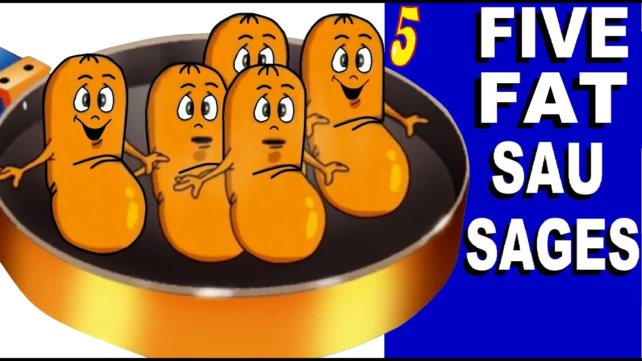 Five Fat Sausages song and lyrics from KIDiddles