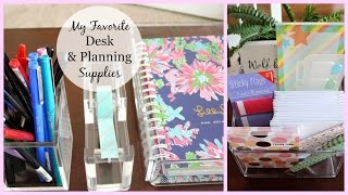 My Favorite Desk & Planner Supplies