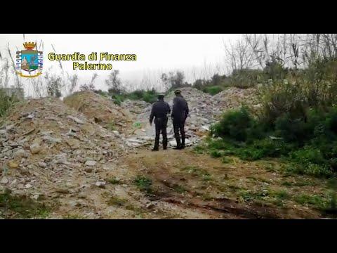 Palermo, la Finanza sequestra discarica abusiva da 30mila metri quadri