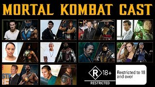 Все, что известно о фильме Mortal Kombat. Актерский Состав