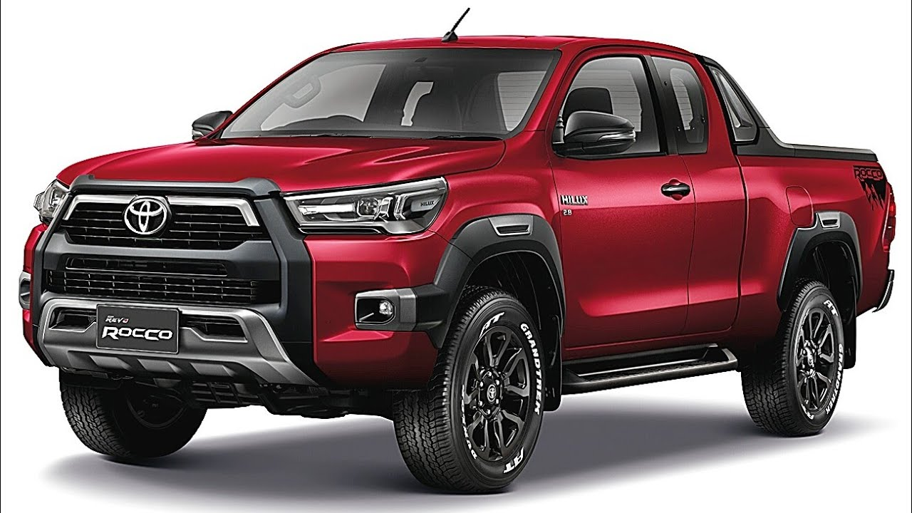 2021 Toyota Hilux Toyota Hilux 2021 Revo Rocco And Regular Youtube