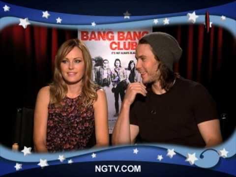 Malin Akerman & Taylor Kitsch on The Bang Bang Club Uncensored w/ Carrie Keagan