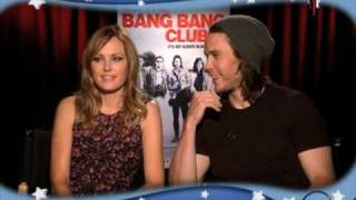 Malin Akerman & Taylor Kitsch on The Bang Bang Club Uncensored w/ Carrie Keagan