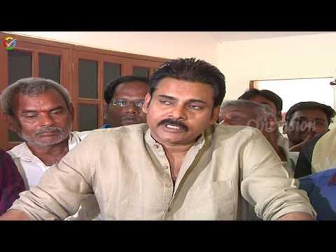 Pawan Kalyan Meets Mulalanka Farmers Polavaram Project Dumping Dispute