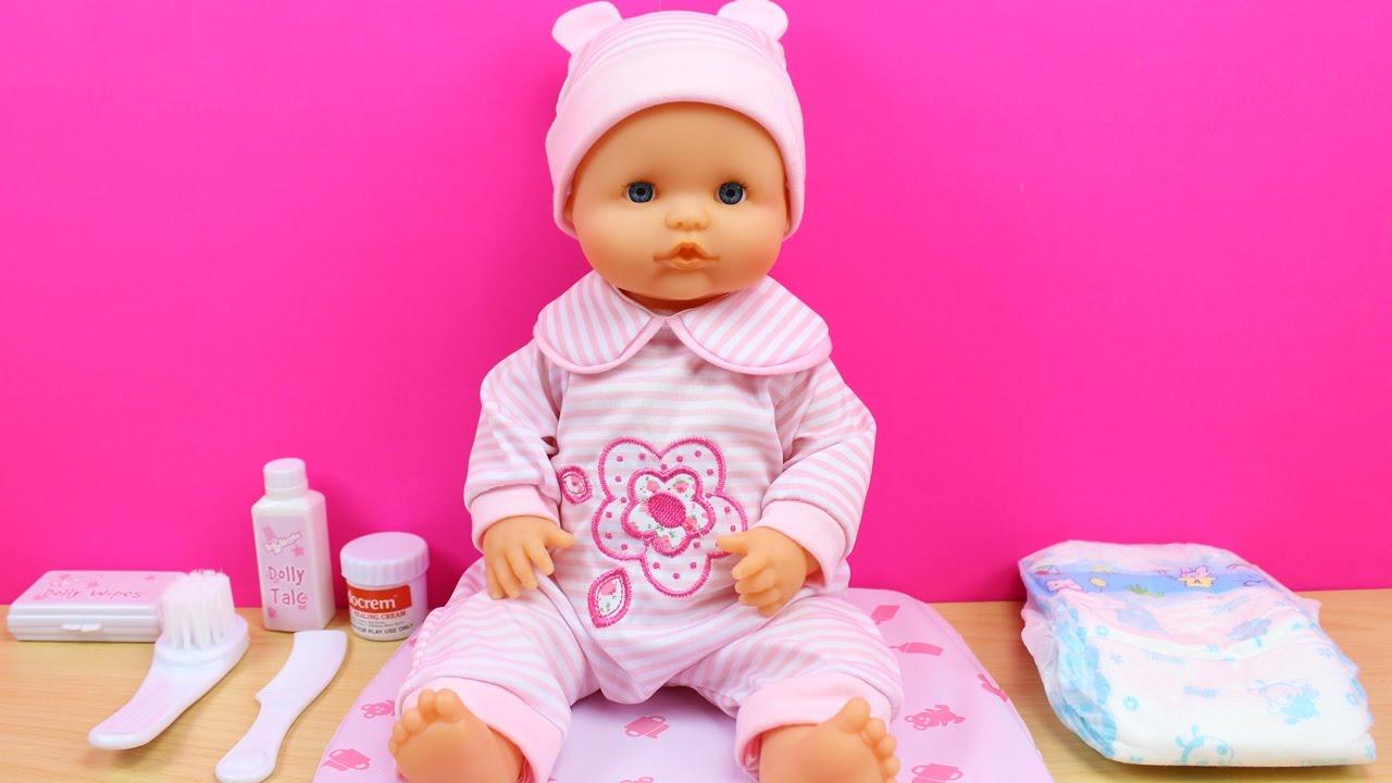 Set cambiador para la mu eca beb ropa y accesorios para el cuidado de la mu eca beb nenuco - Como hacer un mueble cambiador de bebe ...