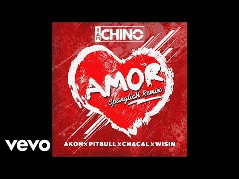 IAmChino, Pitbull, Wisin, Akon, Chacal  Amor Spanglish Remix  Audio