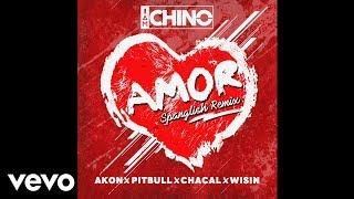 Video IAmChino, Pitbull, Wisin, Akon, Chacal - Amor Spanglish Remix [Official Audio] download MP3, 3GP, MP4, WEBM, AVI, FLV April 2018