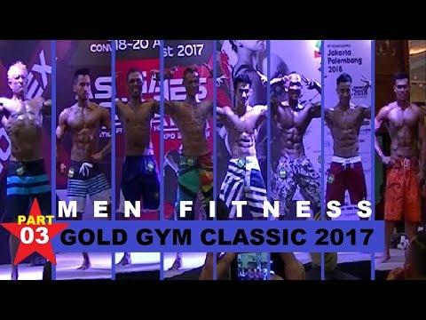 Gold Gym Classic 2017 JCC Jakarta - Men Fitness part 03