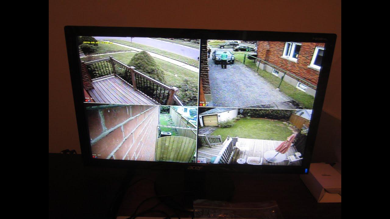 home security camera installs and service oshawa whitby