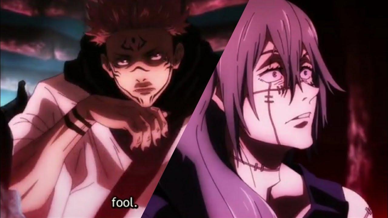 Mahito Scared Of Sukuna Mahito Meets Sukuna For First Time Jujutsu Kaisen Episode 12 Youtube