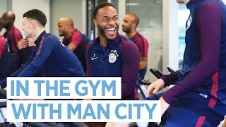 IN THE GYM! | Man City Training