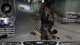 cs:go swag / german streamer gets double penetrated by two dildos at the same time
