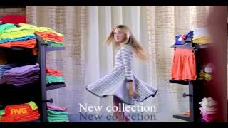 עדי ביטי בסרטון פרסומת למותג אופנת  הילדים AVG