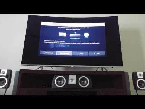 How to fix your Samsung smart TV wireless internet connection