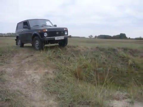 Subaru Forester STi vs. Mitsubishi Pajero vs. Chevrolet Niva .