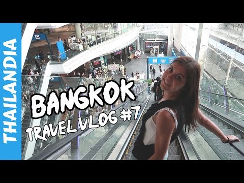 Shopping Malls e Food Challenge - Bangkok - Vacanza in Thailandia - Travel Vlog #7 🇹🇭