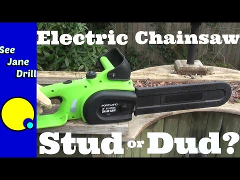 Harbor Freight Electric Chainsaw Stud or Dud?