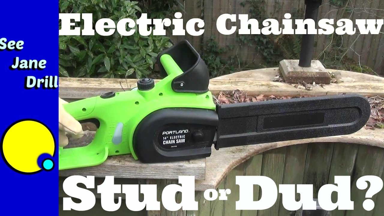 Harbor freight electric chainsaw stud or dud youtube harbor freight electric chainsaw stud or dud greentooth