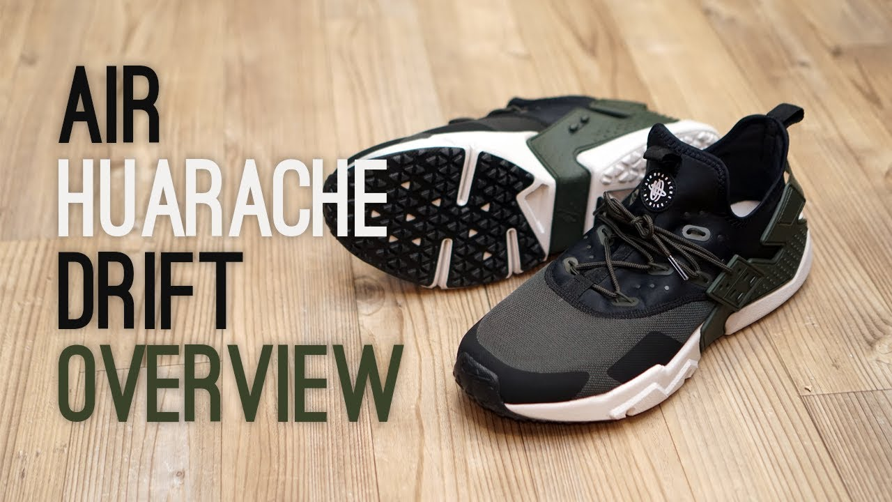 2b0539285af0 Nike Air Huarache Drift Overview - YouTube
