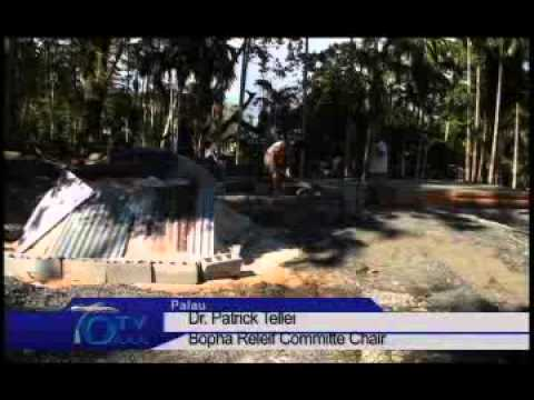 Construction of 20 homes will be completed by March 2013 for Palau Bopha victims - VIDEO