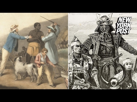 The forgotten story of how an African slave became the first black samurai