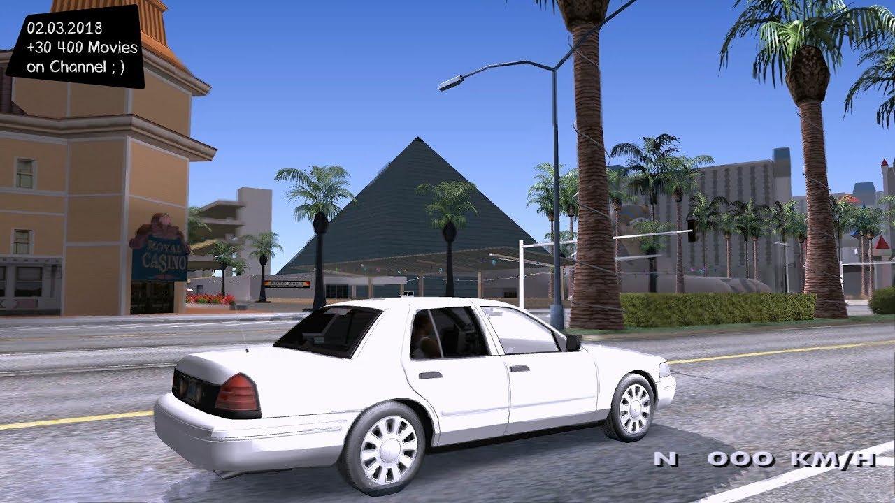 Ford Crown Victoria Unmarked Grand Theft Auto San Andreas Gta Sa Mod