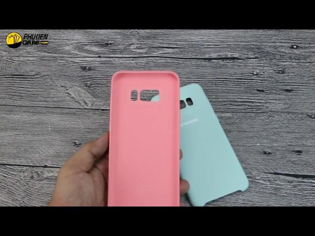 Ốp lưng Samsung Galaxy S8 Plus Silicone Cover chính hãng