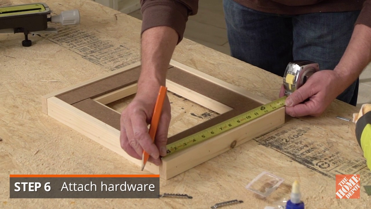 How to Build a Picture Frame - The Home Depot