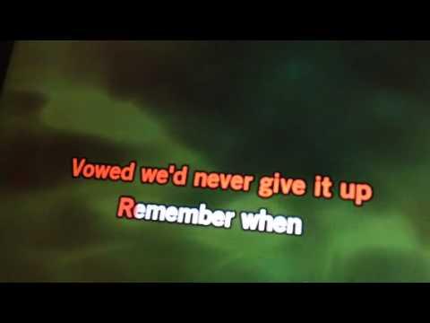 Remember When (karaoke cover by Debra C