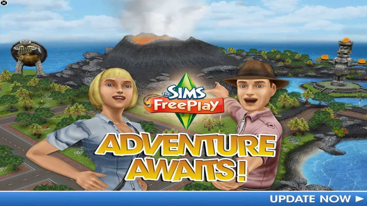 the sims freeplay mysterious island part 1 youtube