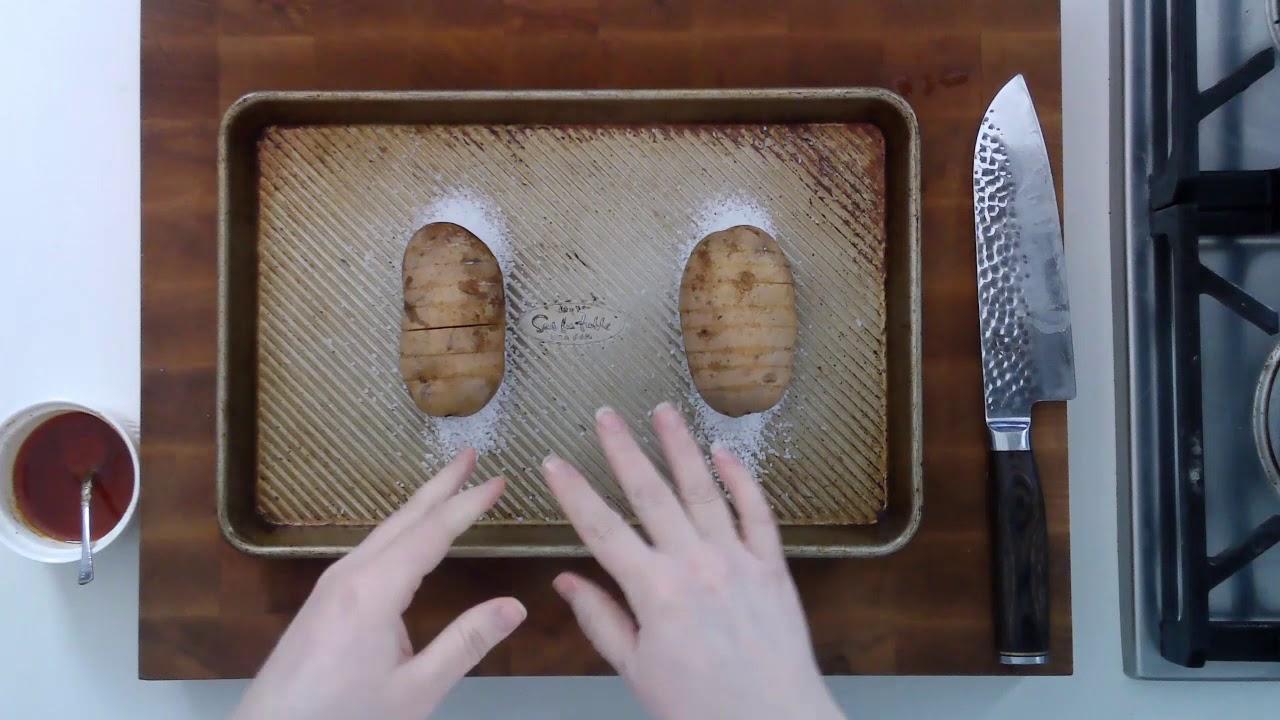 How to Make Hasselback Potatoes