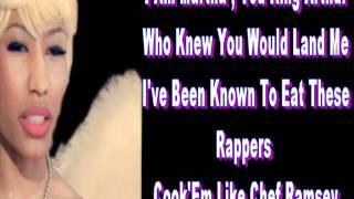 Nicki Minaj Born To Be Wild Verse Lyrics