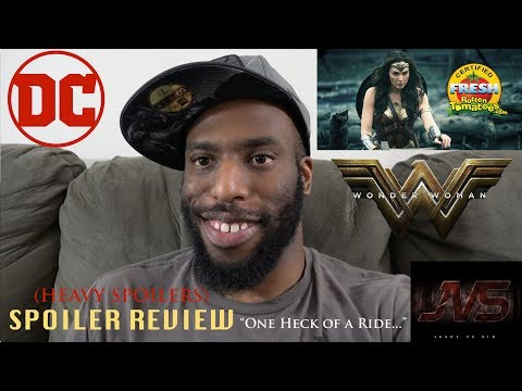 "SPOILER REVIEW for WONDER WOMAN (2017) | ""One Heck of a Ride..."""