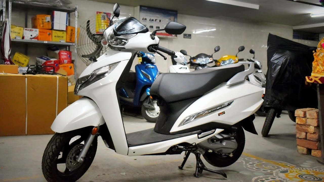 New Honda Activa 125 Bs6 Fi 2020 Top Model India S 1st Bs6 Scooter What S New Full Review Youtube