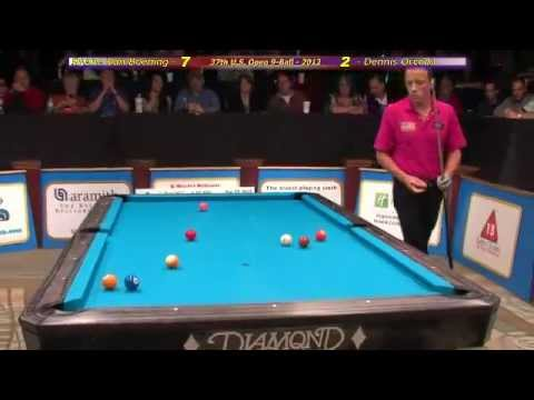 Thumbnail: Amazing and lucky Van Boening and Orcollo shots from US Open 9-ball 2012 final stage