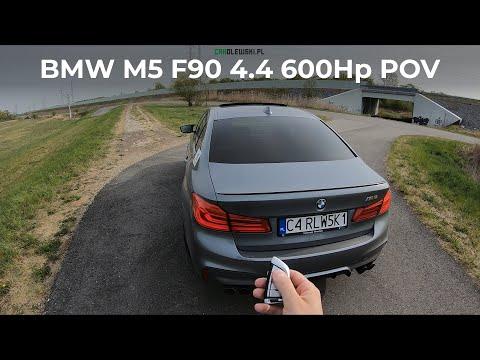 New BMW M5 F90 4.4 600KM 2020 POV, Test Drive, Sound, Acceleration, Exterior And Interior Walkaround