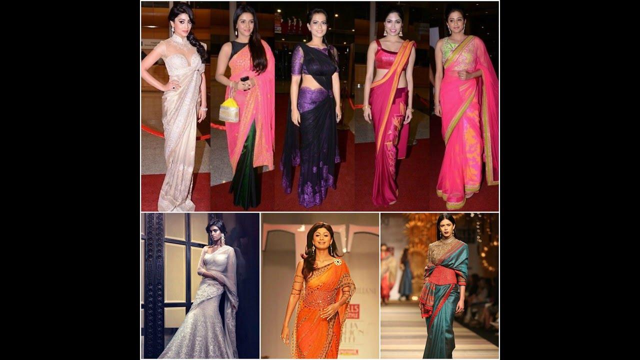 Top 20 Best Designer Saree Blouse Desigs By Tarun Tahiliani Youtube