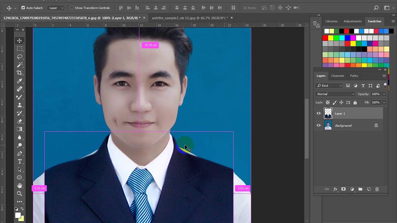 bai 5 Hướng dẫn    thay trang phục ( quần áo ) trong photoshop cc2018