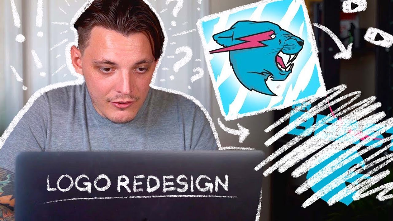 Download ReDesigning The Mr.Beast Logo