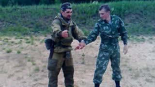 Работа с детьми в военно-патриотических лагерях. Часть 2. Уроки рукопашки...