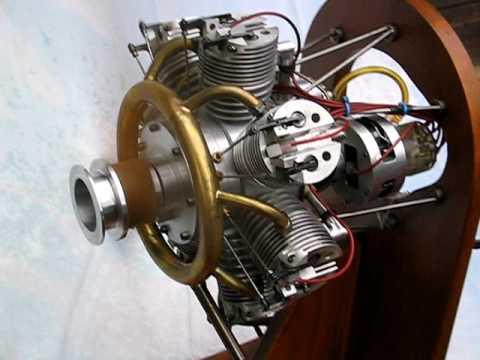 motorconcept moteur 7 cylindres en toile youtube. Black Bedroom Furniture Sets. Home Design Ideas