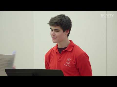 Trinity College London Grade 8 Singing Improvisation Test (stylistic stimulus)