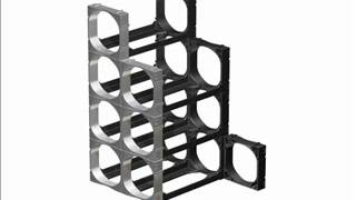 Cellarstak Wine Racks, Module By Module Assembly Method