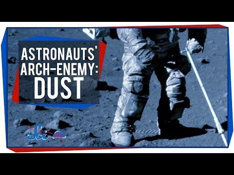 Astronauts' Arch-Enemy: Dust
