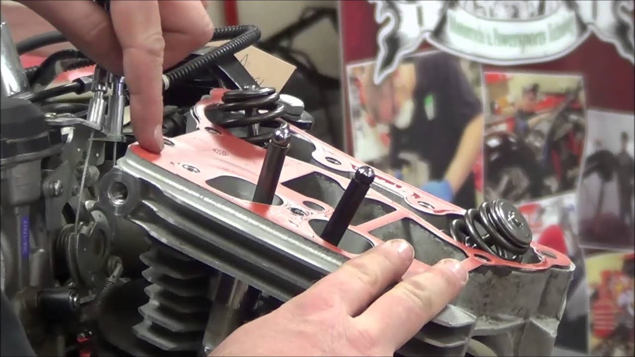 Twin Cam Engine Series 01 Rockerbox And Pushrod Removal