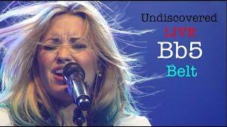 Demi Lovato - UNDISCOVERED LIVE Bb5 BELT (2012)