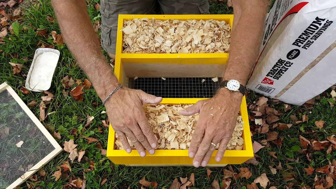 Winter Hive Boxes Insulation Cluster Feeding YouTube